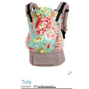 Tula baby carrier and newborn insert